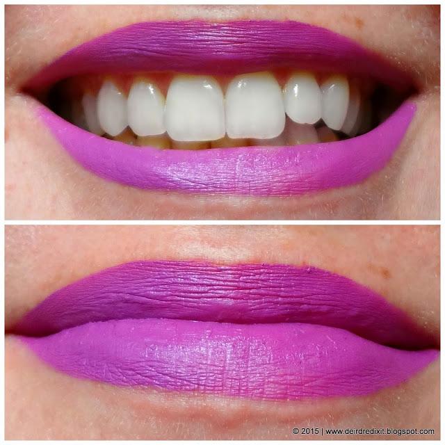 Make Up Revolution Salvation Velvet Lip Keep Lying For You