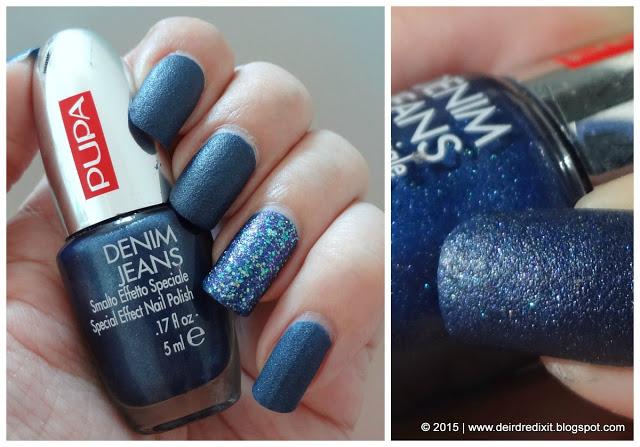 Pupa Denim Jeans 002 Dark Blue