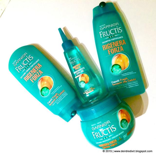 Shampoo Garnier capelli fragili