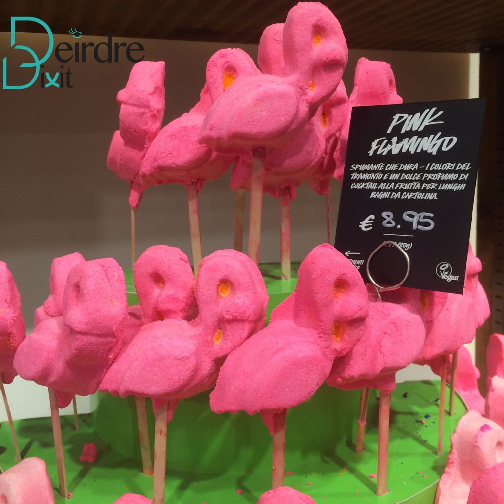 Lush Pink Flamingo