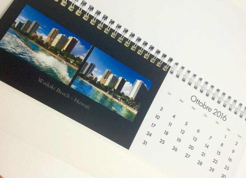 Calendario fotografico da scrivania Snapfish