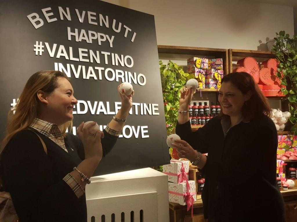 Evento Lush S. Valentino