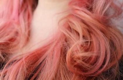 Capelli rosa pink hair