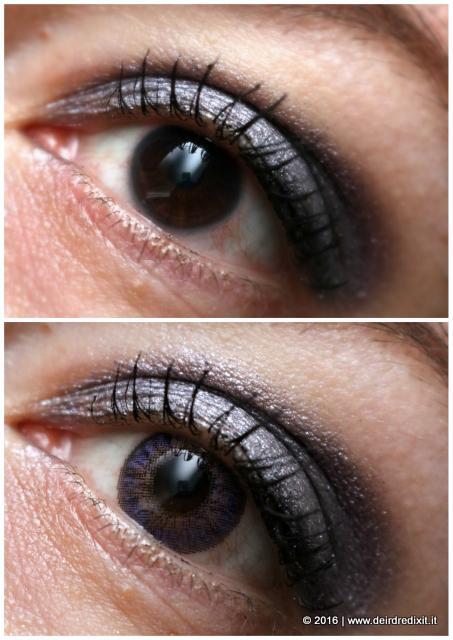 lenti colorate viola
