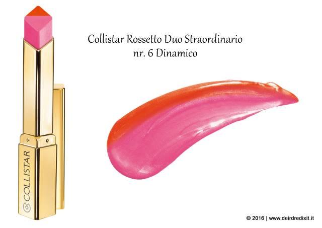 Rossetto Duo Straordinario Collistar nr 6 Dinamico