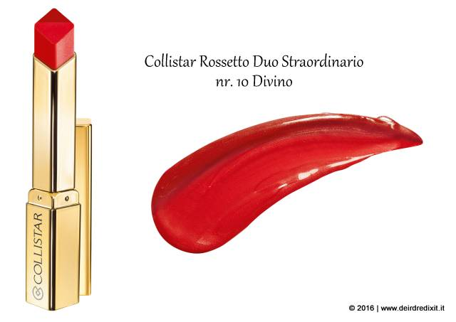 Rossetto Duo Straordinario Collistar nr 10 Divino