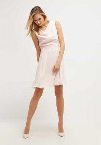 Swing vestito rosa quarzo
