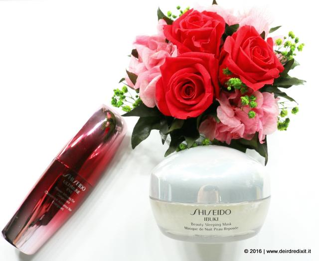 Shiseido Ibuki Beauty Sleeping Mask