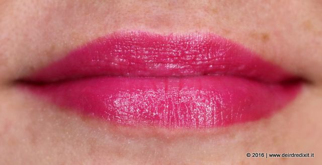 rossetto Mac Lickable swatch