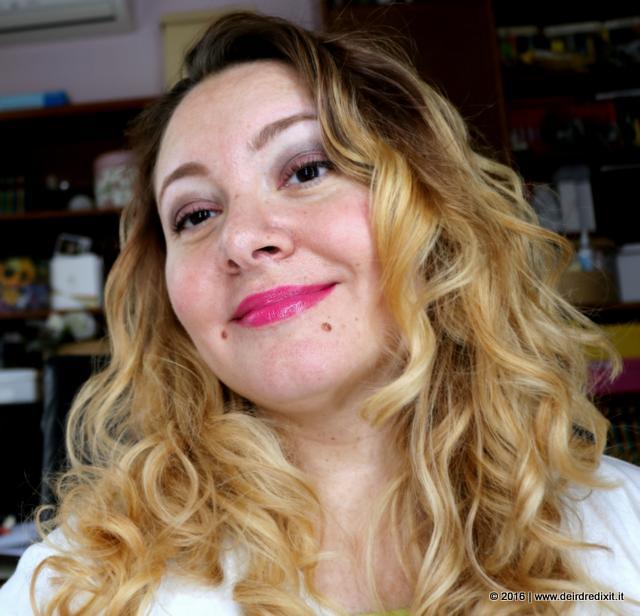 wearing Mac Lickable Lipstick
