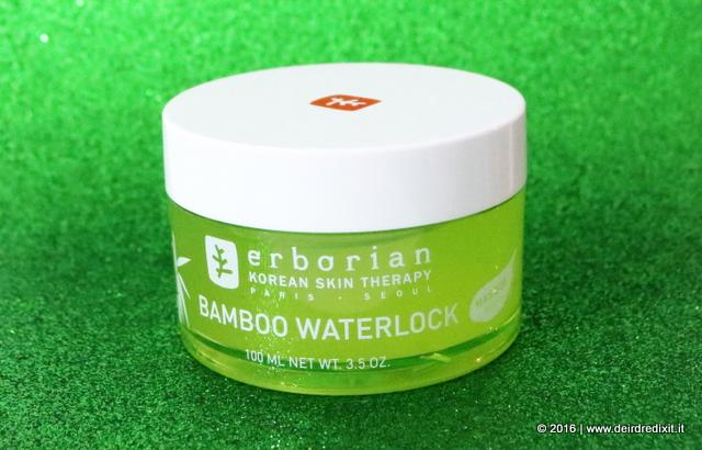 maschera Erborian Bamboo Waterlock