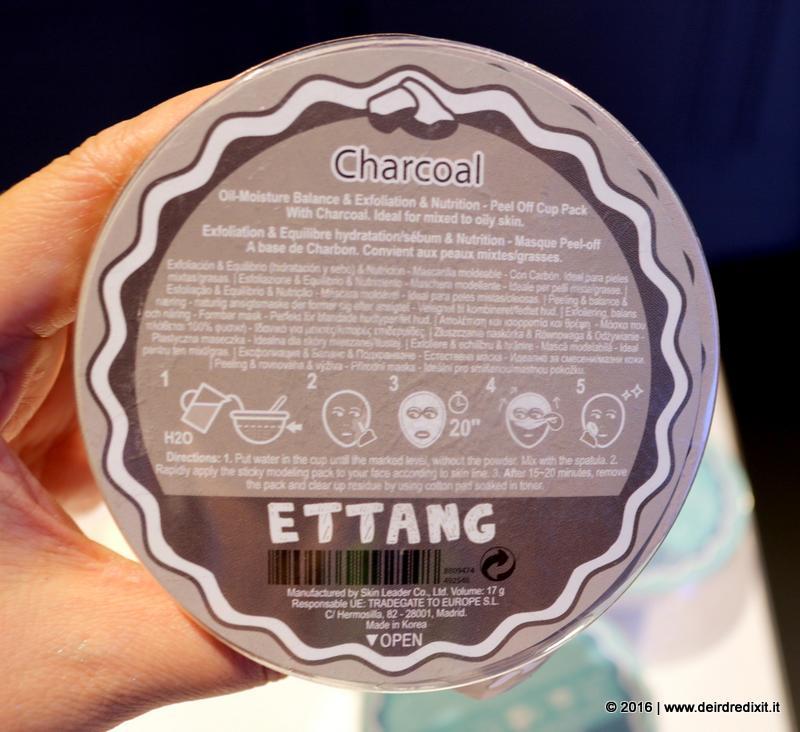 maschere viso coreane Ettang