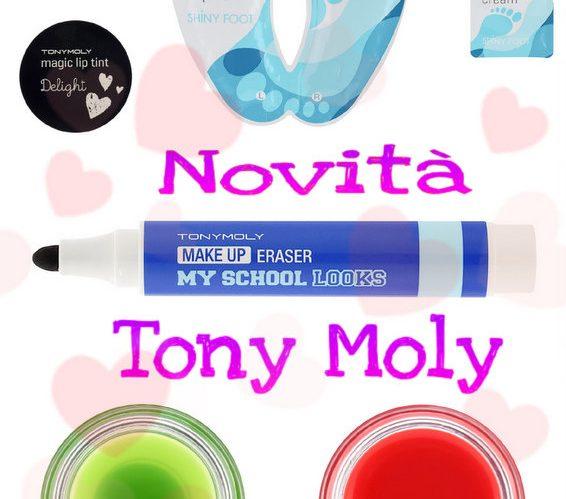 novità Tony Moly