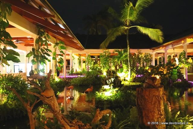 Paradisus Punta Cana The lobby by night