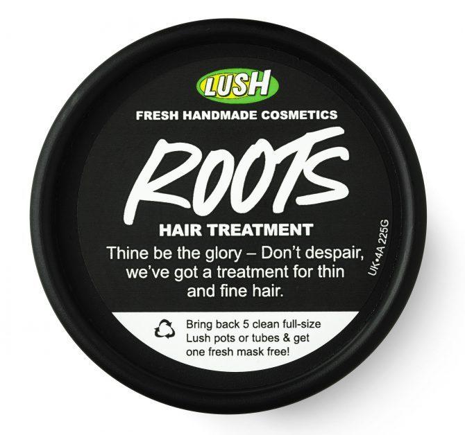 trattamento capelli Lush Radici