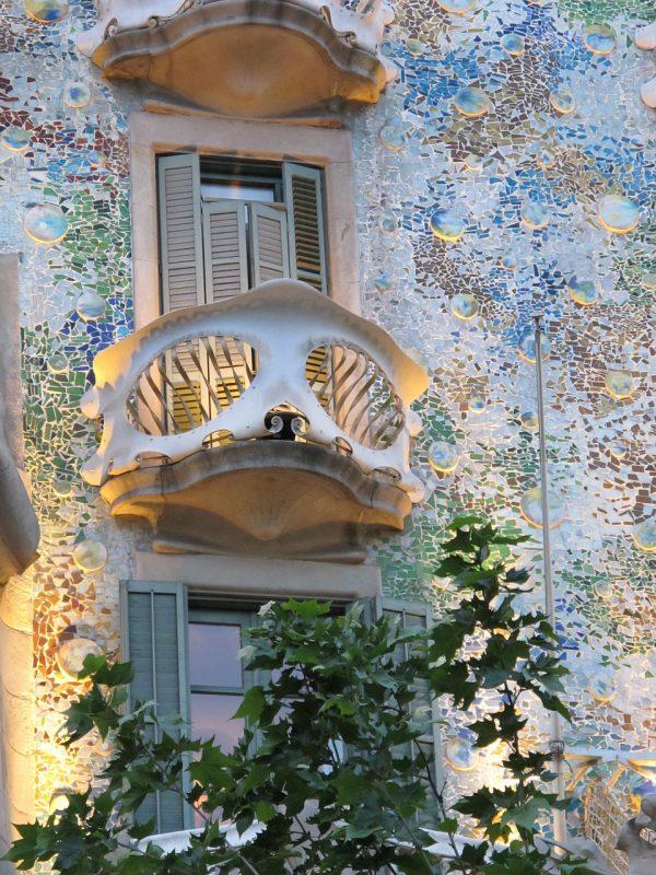 Barcellona, dettaglio Casa Batllo