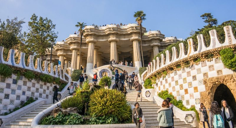 Barcellona, Parc Guell