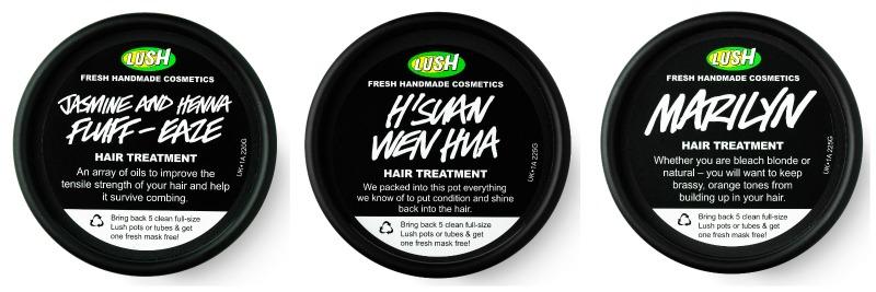 trattamento capelli Lush maschere