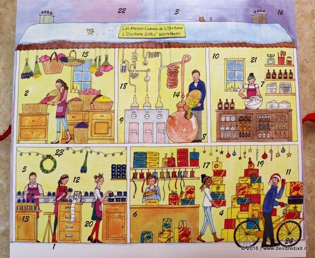 calendario dell'avvento L'Occitane