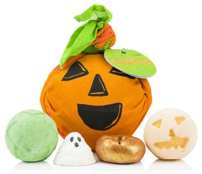 Lush Halloween Pumpkin