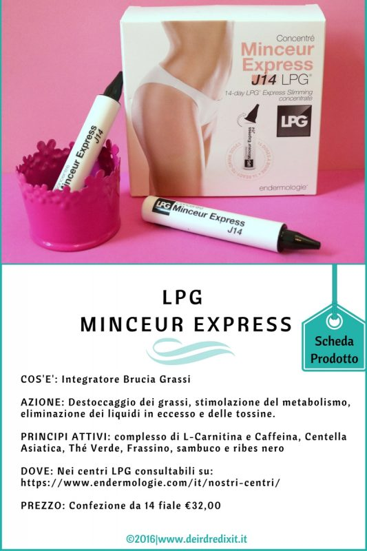Brucia grassi LPG Minceur Express
