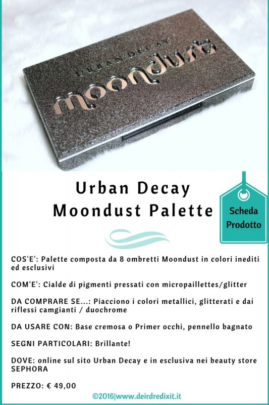 palette Urban Decay Moondust