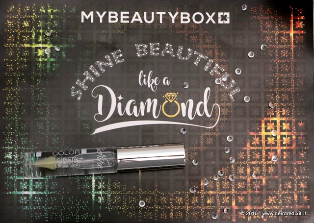 MyBeautyBox Dicembre 2016