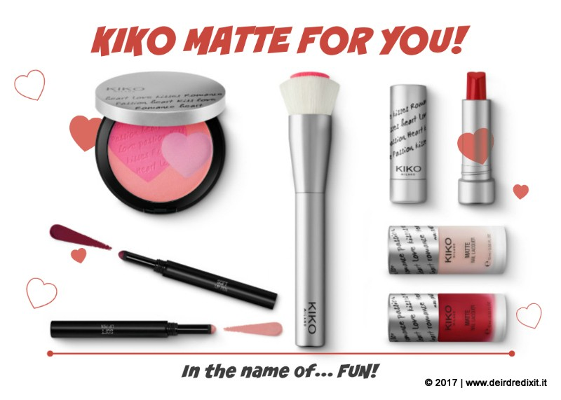 kiko matte for you collezione