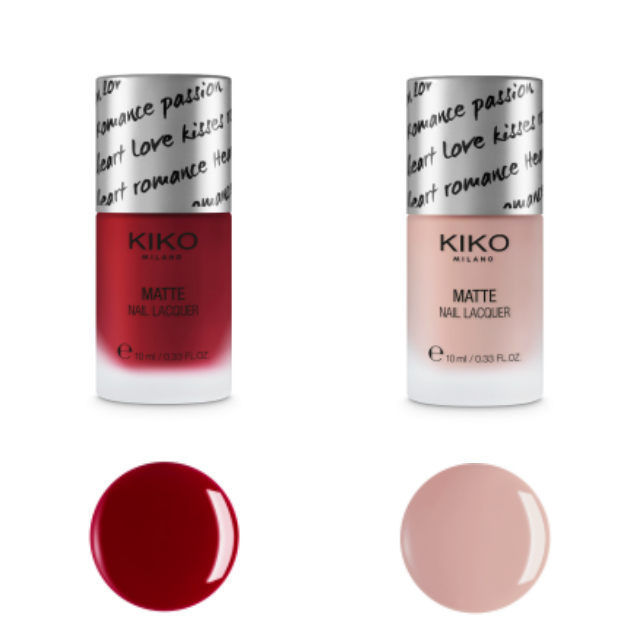 KIKO MATTE FOR YOU NAIL LACQUER