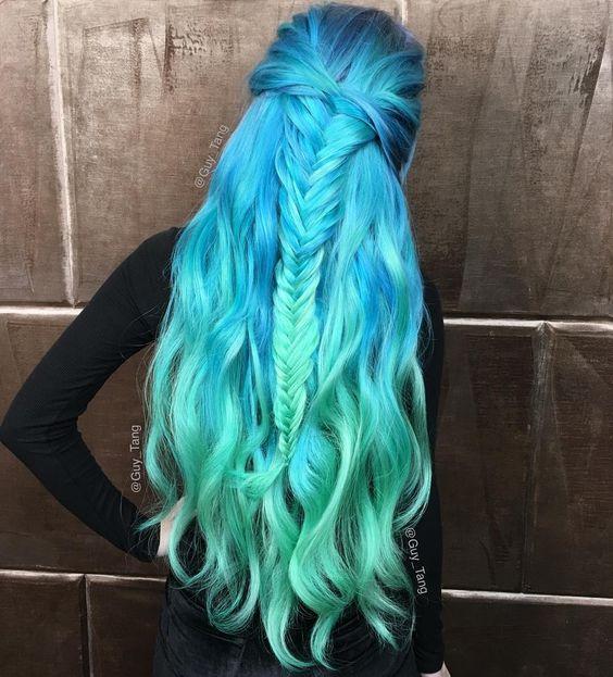 capelli sirena