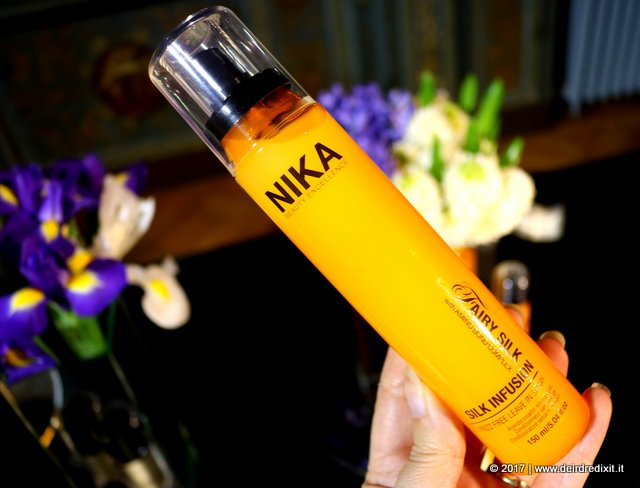 trattamento anticrespo Nika Fairy Silk Infusion