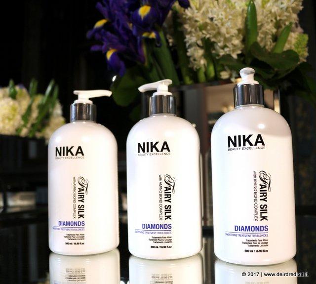 Gemidos El camarero Pólvora  Il nuovo trattamento anticrespo Nika Beauty Excellence: Diamonds | Parola  di Deirdre!