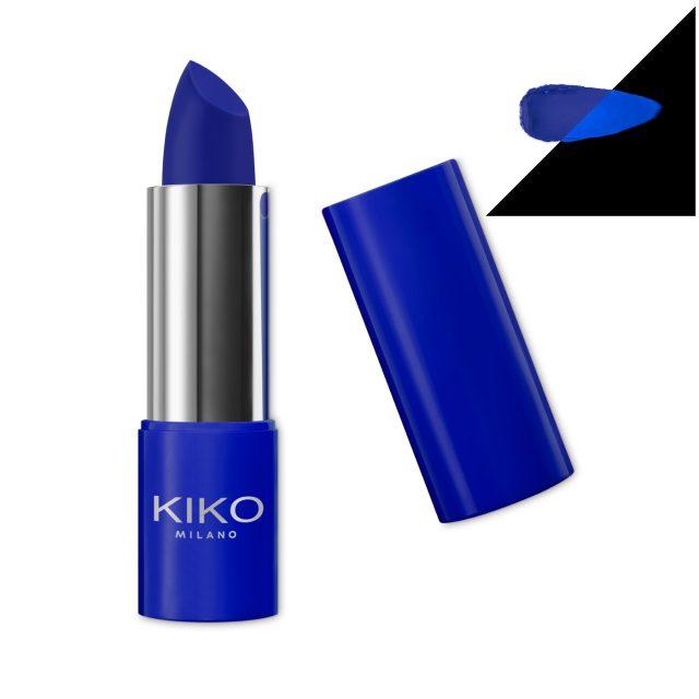 Kiko Active Fluo Lipstick 03 Vigorous Blue