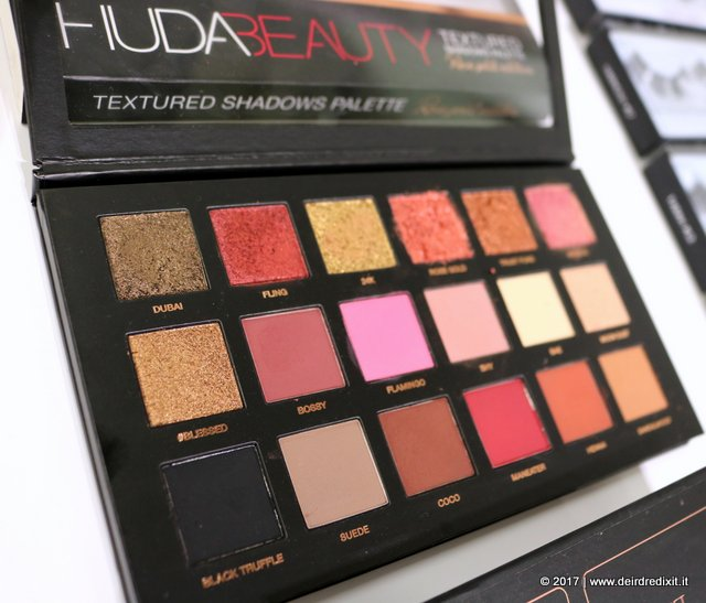 Huda Beauty Italia Palette