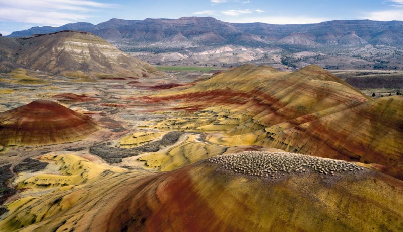Cosa vedere in oregon Painted Hills