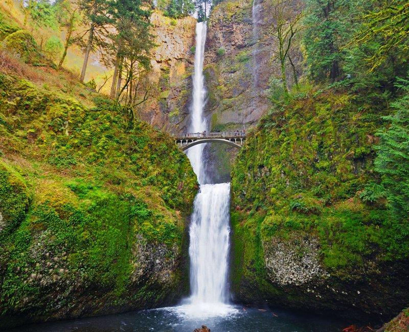 Cosa vedere in Oregon Multnomah Falls