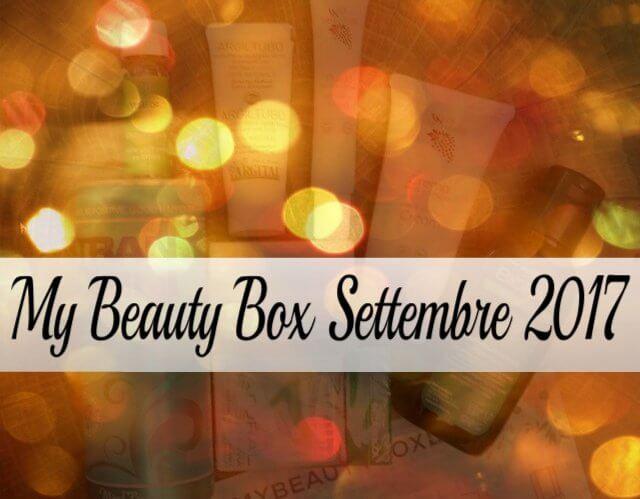 MyBeautyBox Settembre 2017