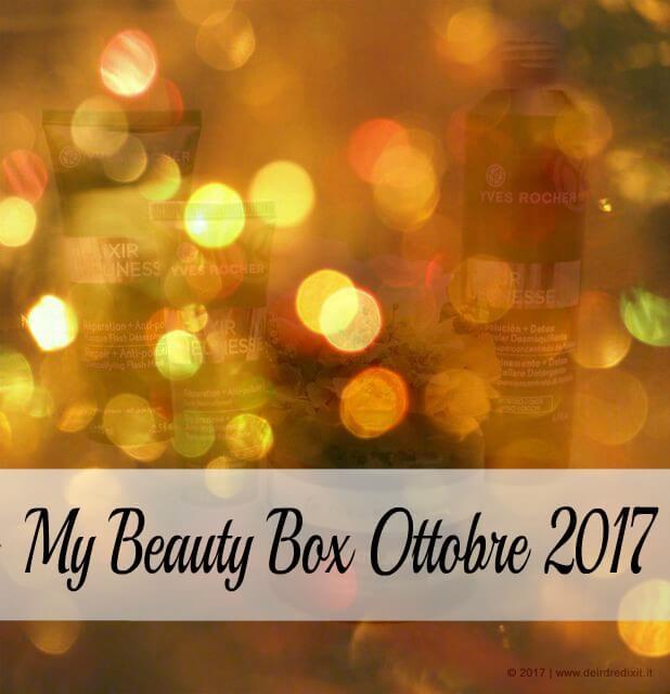 MyBeautyBox Ottobre 2017