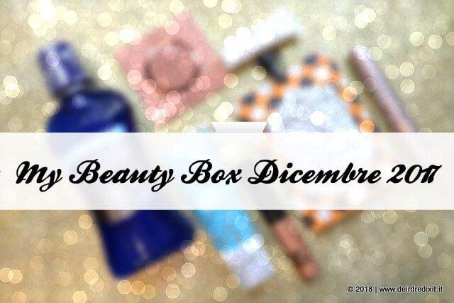 MyBeautyBox Dicembre 2017