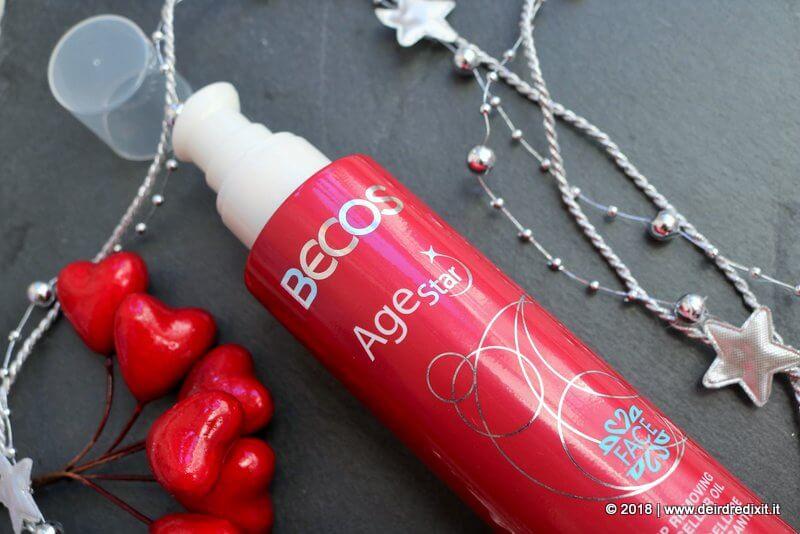 Becos Age Star Olio Micellare Detergente Struccante