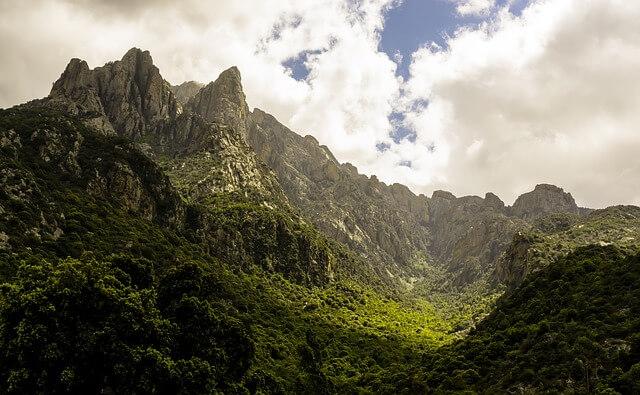 corsica montagne