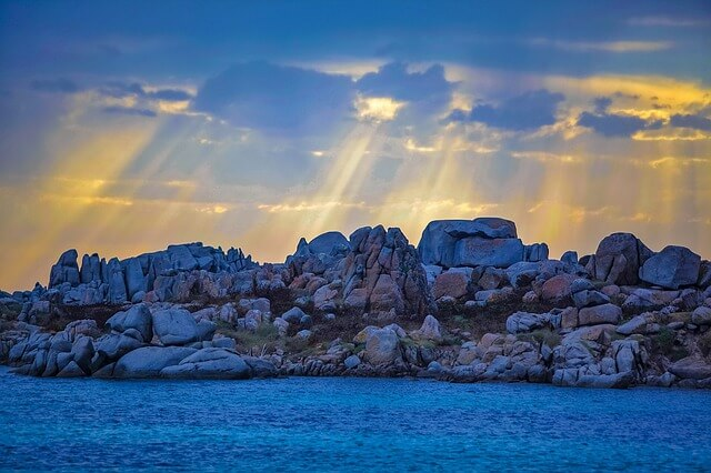 corsica tramonto