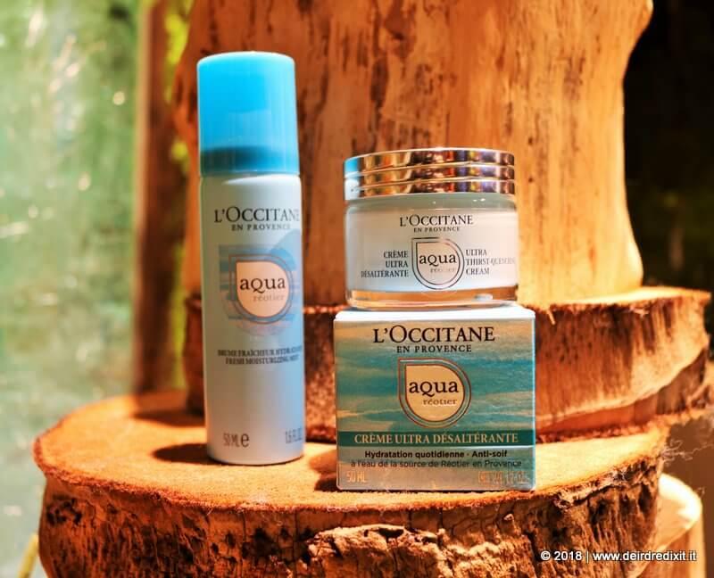 Occitane Aqua Reotier Bruma e Crema