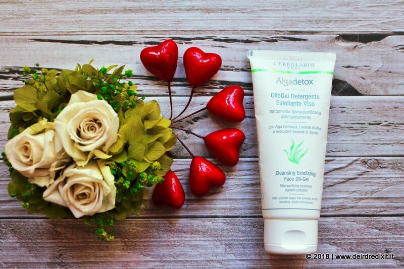 erbolario algadetox oliogel detergente esfoliante viso