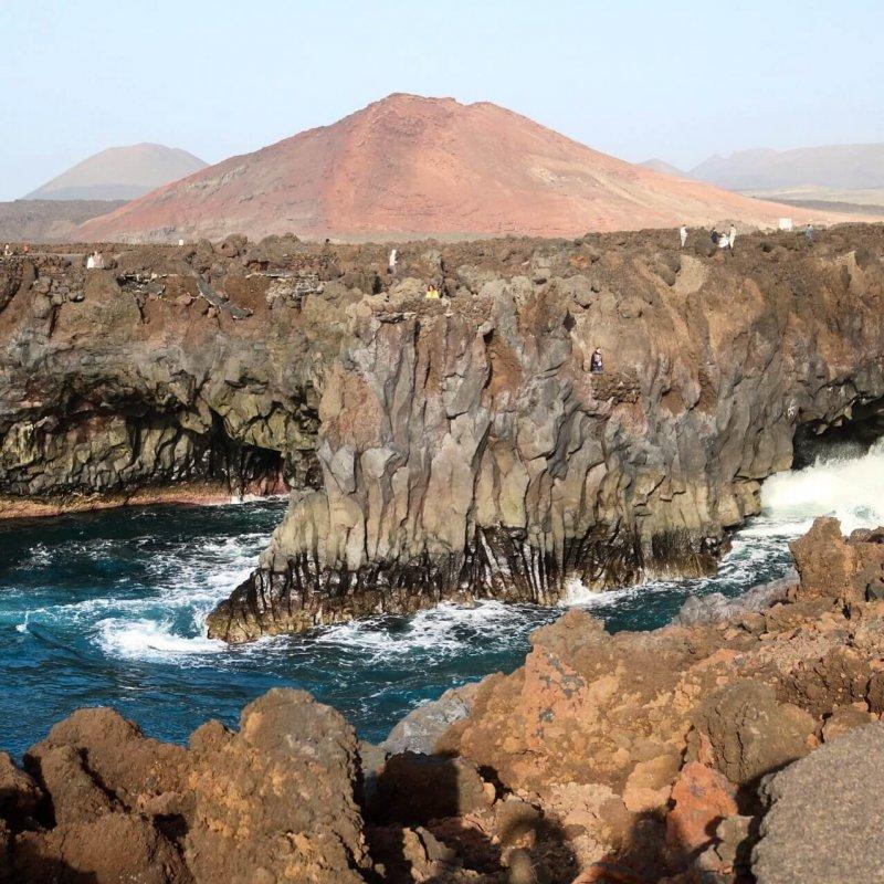 isole canarie Lanzarote - Los Hervideros