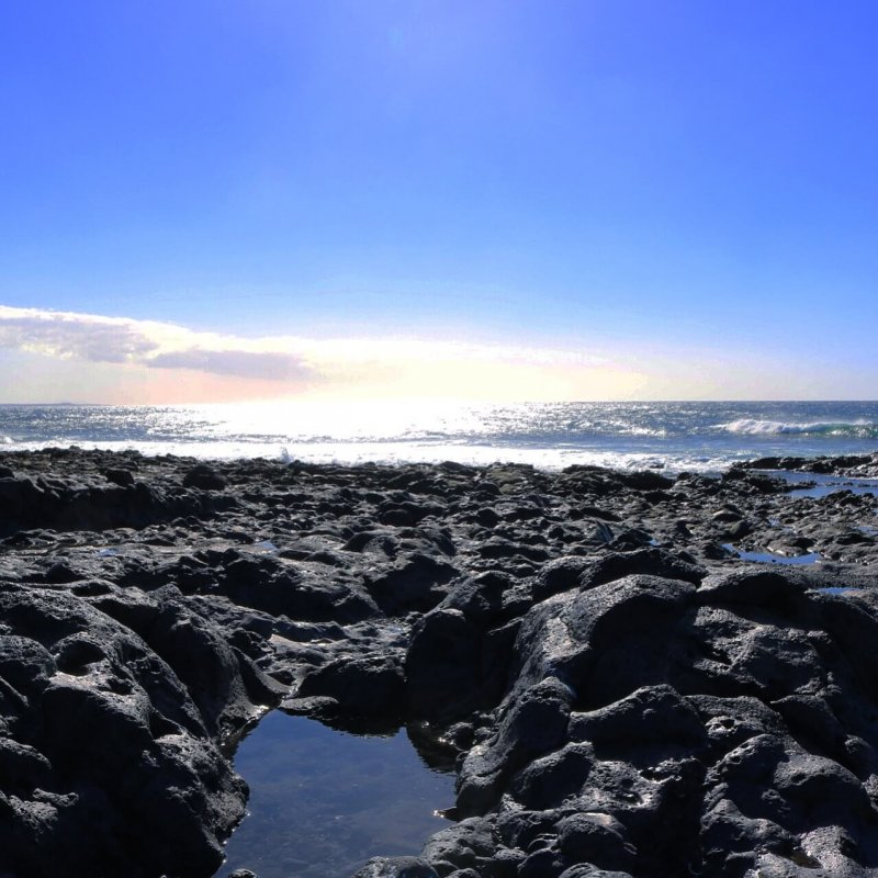 isole canarie Lanzarote - El Golfo