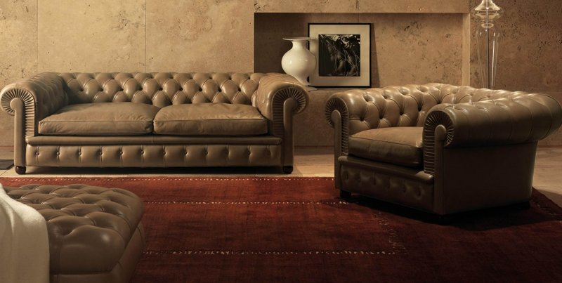 divano chesterfield
