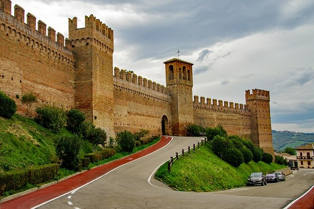 castelli marchigiani Gradara