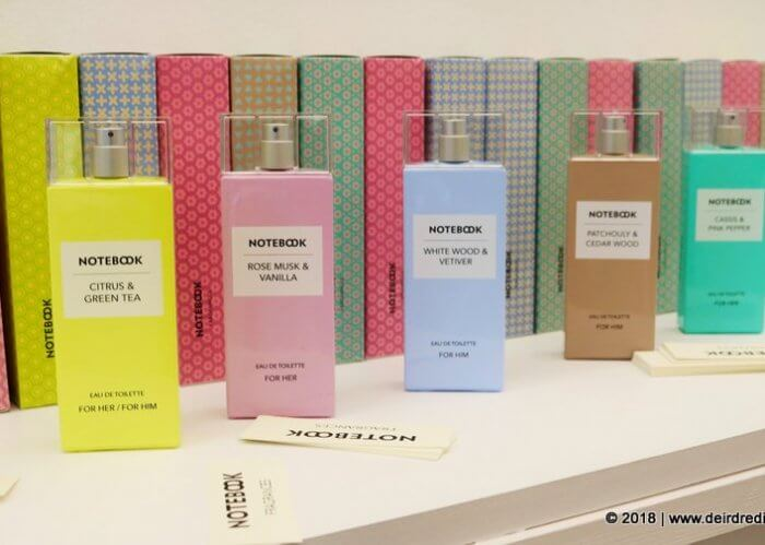 Notebook Fragrances profumi buoni economici