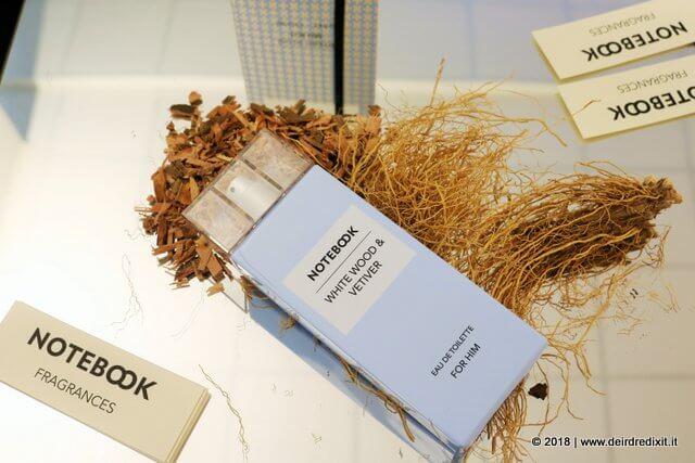 Notebook Fragrances Vetiver